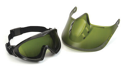 Pyramex Shade 5 Cutting & Grinding, Welding anti-fog Goggles Glasses Face Shield