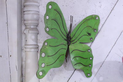 Metal Hanging Butterfly in 2 Colors Decorative Wall Art