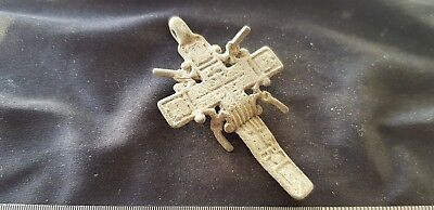 Very rare & unusual Post Medieval crucifix pendant please read description. L89q