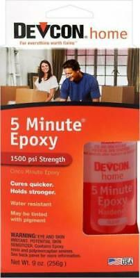 New Devcon 20945 S209 2 Part Large 5 Minute Epoxy Glue Waterproof Adhesive