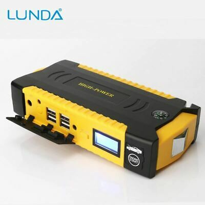 Peak Current Portable Car Jump Starter Charger Emergency Battery Booster Pack