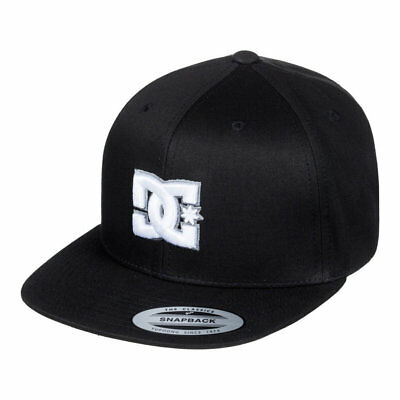 Dc Shoes Snappy Snapback Hat Black Ss 2018 New Cappellino