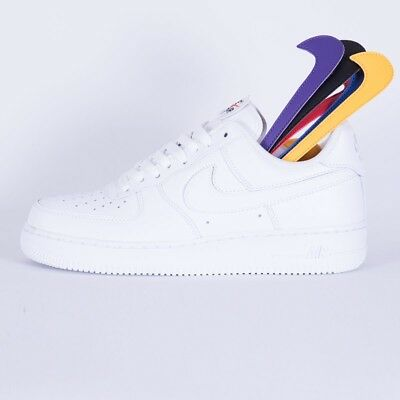 Uk 5 7 07 Nike Air Swoosh 8 11 Pack 1 6 9 Us White Force 10 12 Removable 54AL3Rj