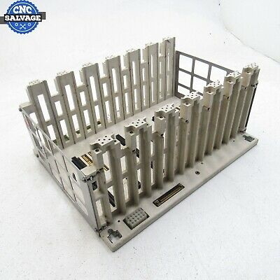 Modicon 7-Slot Primary Housing Rack AS-9534-002 AS-H819-209 *Tested*