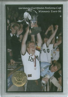 Deutschland Germany Euro 96 Football European Cup Winners Coin Gift Set 1996
