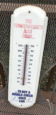 1960's Buick Used Car Thermometer