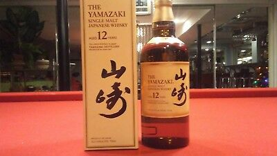 The Yamazaki 12 Year Old Single Malt Whisky*rare*