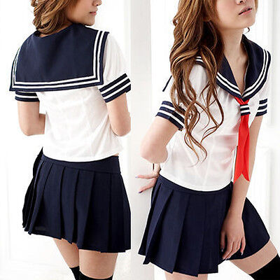 Japanese Anime Costume Japan School Girl Uniform Dress Cosplay Costume Suit