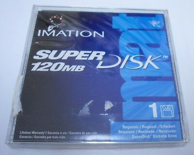 Brand New Factory Sealed Imation LS120 Superdisk 120MB Aged Stock