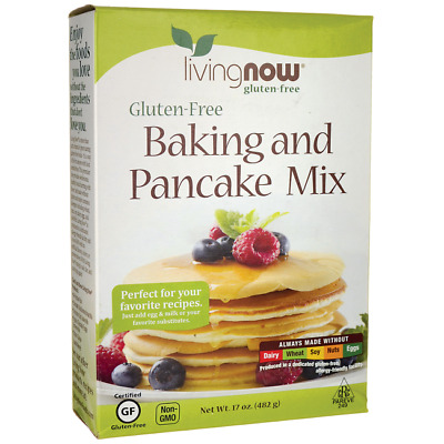 NOW Foods Living Now Baking and Pancake Mix 17 oz (482 g) Box
