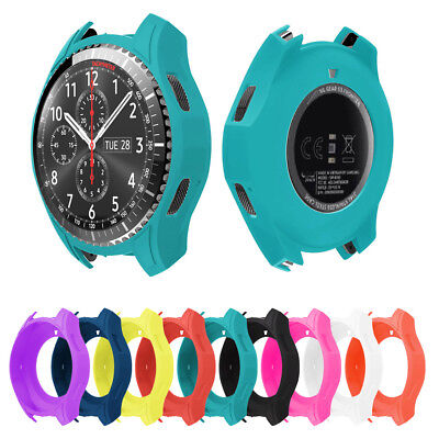 Silicone Protector Watch Case Cover For Samsung Gear S3 Classic / Frontier UK