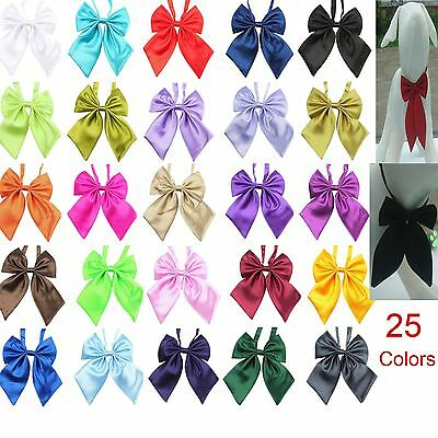 Wholesale Lot 50/100 Colors Adjustable Solid Grooming Pet Dog Bow ties Neckties