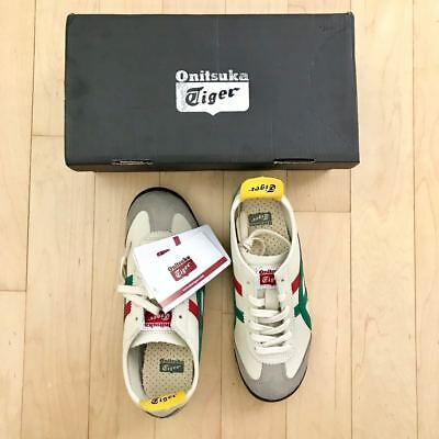 uk availability d1fc8 df955 ASICS ONITSUKA TIGER Mexico 66 Birch Green Shoes DL408-1684 New Rare Sz 4.5  US