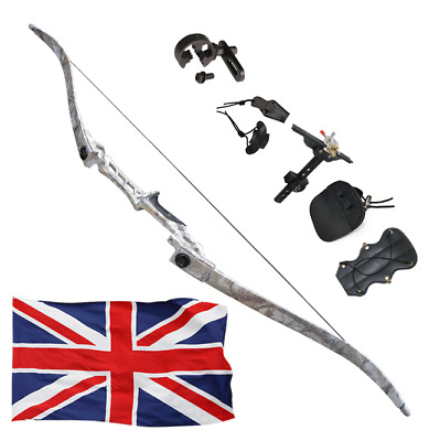 Recurvos Archery Recurve Bows 35lbs Takedown Hunting Right Hand Camouflage ES