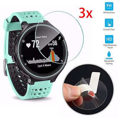9H+Tempered Glass Screen Protector For Garmin Forerunner 225/230/235/620/630 3X