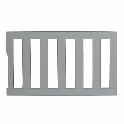 Dream On Me Universal Convertible Crib Toddler Guard Rail in cool grey