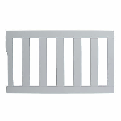 Dream On Me Universal Convertible Crib Toddler Guard Rail in storm grey