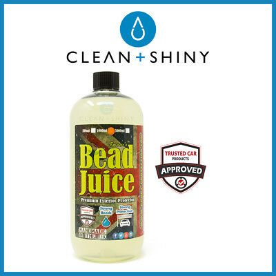 Bouncer's Bead Juice Exterior Spray Sealant 1 Litre - Hydrophobic Self-Cleaning