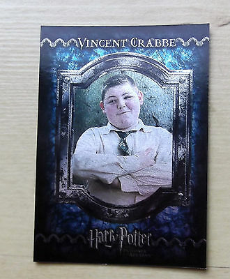 Harry Potter And The Prisoner Of Azkaban Foil Trading Cards F16 Vincent Crabbe
