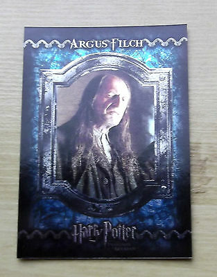 Harry Potter And The Prisoner Of Azkaban Foil Trading Cards F15 Argus Filch