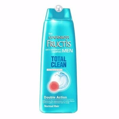 Garnier Fructis Men Anti Dandruff Shampoo Total Clean 250Ml For Normal Hair