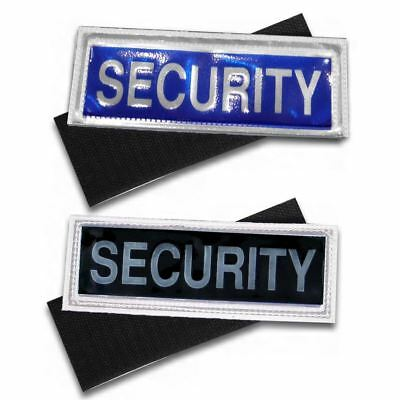 Small Hook and Loop Reflective Security Badges