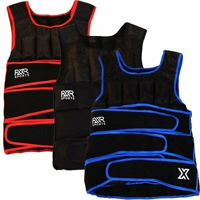 FXR Sports Adjustable Weighted Training Vest 5 10 15 20 30kg Running Gym 5kg