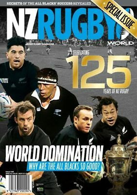 NZ Rugby World Special Issue 185, Celebrating 125 Years of NZ Rugby, All Blacks