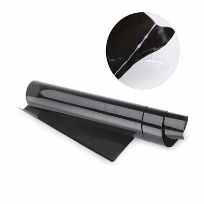 Black Smoke Headlight Taillight Fog Light Tint Film Vinyl 30 ×120CM