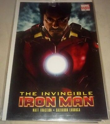 the invincible iron man #25 photo movie variant