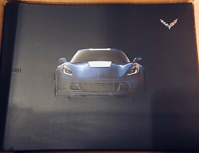 2017 Chevrolet Corvette Dealer Sales Brochure. Brand new! First year of the GS!