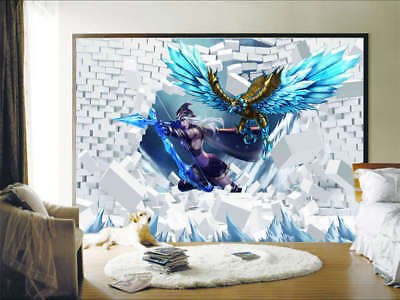 Enormous Pulpy Robot 3D Full Wall Mural Photo Wallpaper Printing Home Kids Decor
