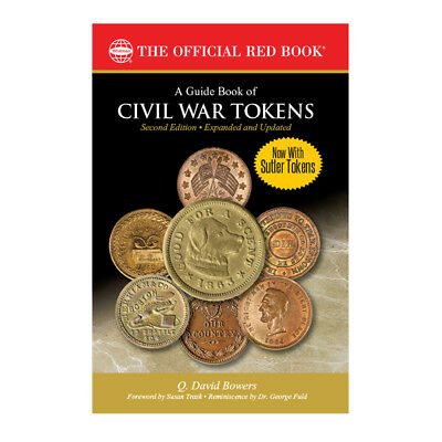 HURT Book Sale - Whitman Guide Book of CIVIL WAR TOKENS 2nd Edition