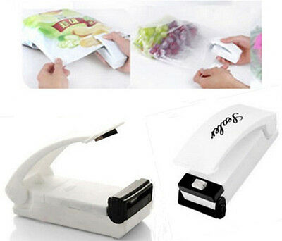 Portable Mini HomeSeal Vacuum Food Bag Sealer Packaging Machine Kitchen Tool LOT