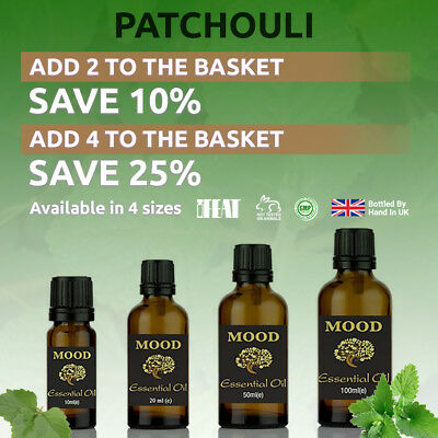 Patchouli Essential Oil Natural Aromatherapy Essential Oils Diffuser Burner