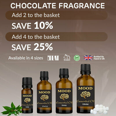 Chocolate Fragrance Oil Natural Home Fragrances Diffuser Candle & Soap Making