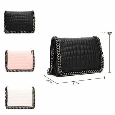 Ladies LYDC Design Quilted Faux Leather Purse Clutch Bag Handbag Boxed PL342