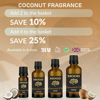 Coconut Fragrance Oil Natural Home Fragrances Candle & Soap Making