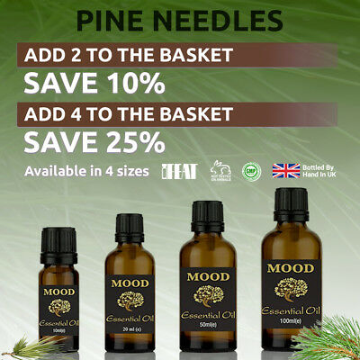 Pine Needles Essential Oil Natural Aromatherapy Essential Oils Diffuser Burner