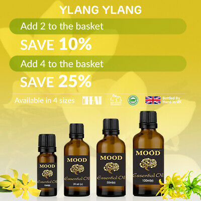 Essential Oil Oils Pure Aromatherapy Natural Ylang Ylang Fragrance Organic
