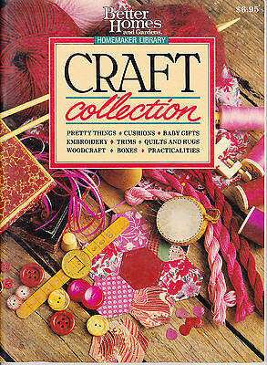 BH & G Craft Collection - embroidery, cushions baby gifts quilting woodcraft