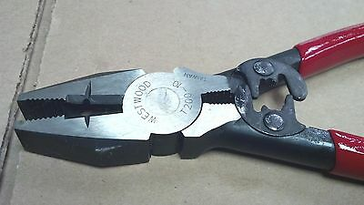 Lineman's Pliers & Crimper, Crown, Model 695, T200-10, Westwood, 8""