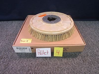 "Floor Polish Brushes B451800 16"" Union Mix Anp-92 Machine Pad Fiber Buffer New"
