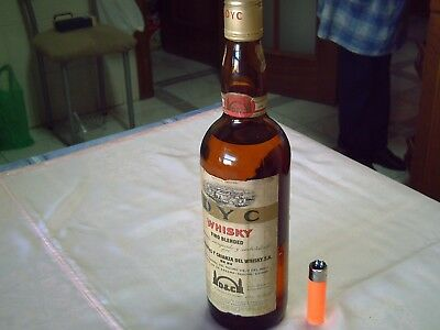 60's really delicious, special spanish WHISKY DYC, 75 cl. 43 º  (0,75 litre)