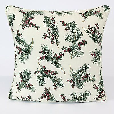 """100% Cotton CUSHION COVER Designer Inspired Leave Design BEST QUALITY  18""""x 18"""""""