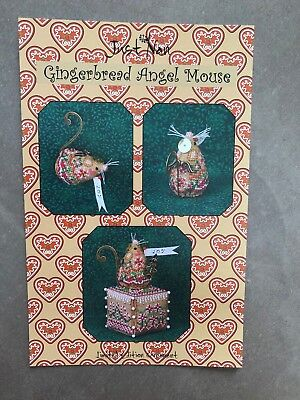 Just Nan pattern.Gingerbread Angel Mouse. Limited Edition ornament