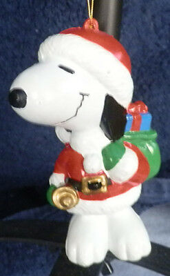 Snoopy Figural Christmas Ornament ~ Peanuts ~ Charles Schulz ~ Brand New Cond.