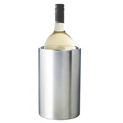 David & Waddell Stainless Steel Wine Chiller Cold Champagne Bottle Drink Cooler