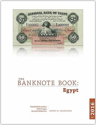Egypt chapter from new catalog of world notes, The Banknote Book