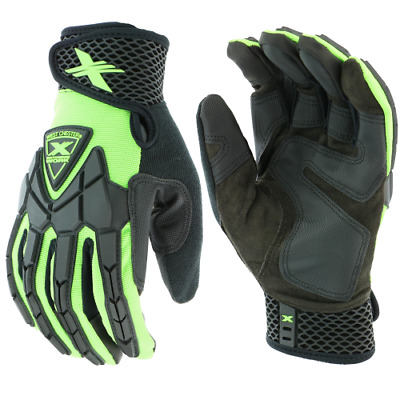 Extreme Work™ Strike ProteX™ with XLock™ Cuff Impact Mechanics' Gloves 89306